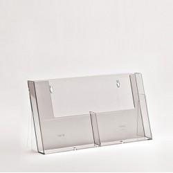 Portadepliant da banco 2 x A5 Taymar counter single