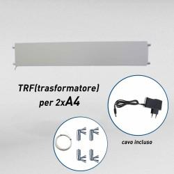Fly shine light transformator kit (2xA4 V)
