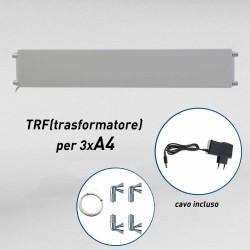 Fly shine light transformator kit (3xA4 V)