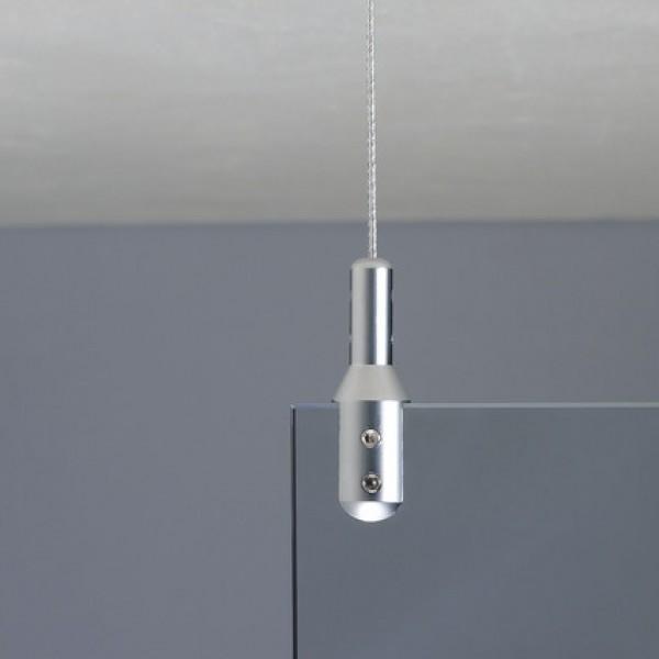 FU1549CMSET02 - Fisso univers argento satinato (2 Pz)
