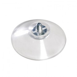 Ventosa  trasparente Ø40 mm (4 pz)