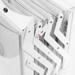 RZ4WE - Espositore pieghevole A4 Real Bianco Ripiegabile