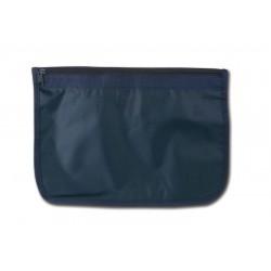 Busta  portadocumenti nylon A4 blu personalizzata