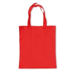 Borsa shopping ripiegabile in astuccio di cartoncino a forma di rossetto personalizzata