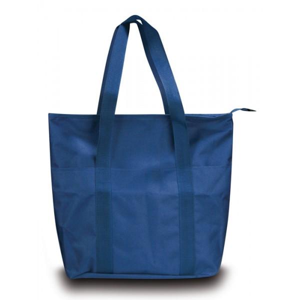 b03c5dc7e9 Borsa shopping nylon tasca frontale personalizzata ▻Q24216-SS-SFT