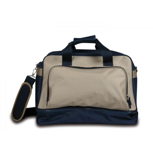 Q24707-SSC1-SFC - Borsone sportivo tasca esterna  personalizzato