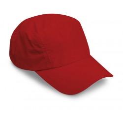 Cappello 5 pannelli in microfibra personalizzato