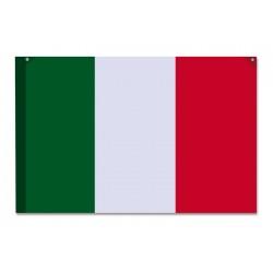 Bandiera italiana personalizzata