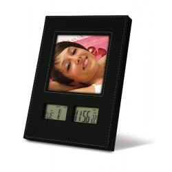 Orologio lcd con portafoto personalizzato
