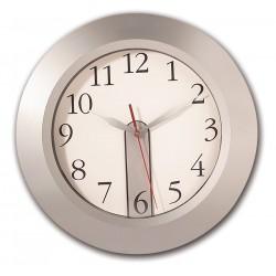 Orologio da parete argento personalizzato