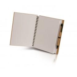 Blocco per appunti in cartone riciclato personalizzato