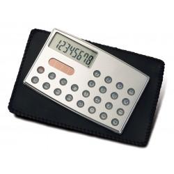 Calcolatrice orizzontale in alluminio personalizzato