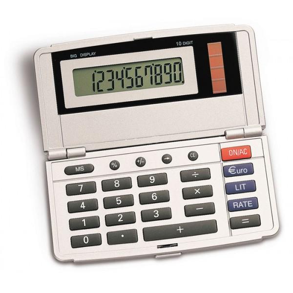 G16416-SS-STC - Calcolatrice richiudibile personalizzato