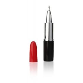 Penna a sfera a forma di rossetto personalizzata
