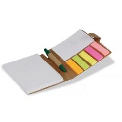 Blocchetti per appunti  in cartone riciclato personalizzato