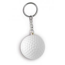 Portachiavi palla da golf antistress personalizzato