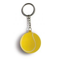 Portachiavi pallina da tennis  antistress personalizzato