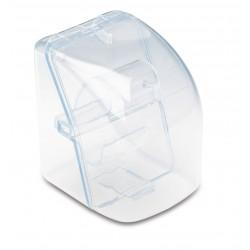 Astuccio per orologio in plastica trasparente  personalizzato