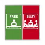 SIODE148148AL - Segna porta libero occupato signcode in-out