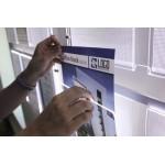YSEP1A4V - Tasche porta annunci da vetrina illuminate fly shine A4